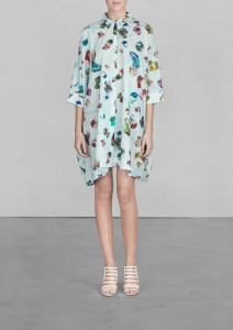 Other Stories gem print shirt dress