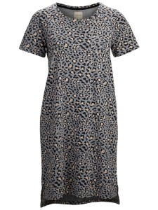Selected Femme dress with leo print