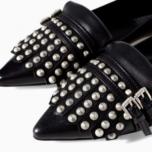 Zara moccasin with studs