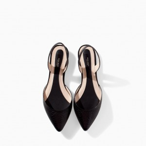 Zara slingback shoes
