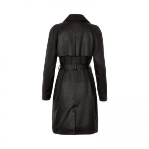 Soaked in Luxury - black trench coat