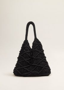 Mango braided design bag