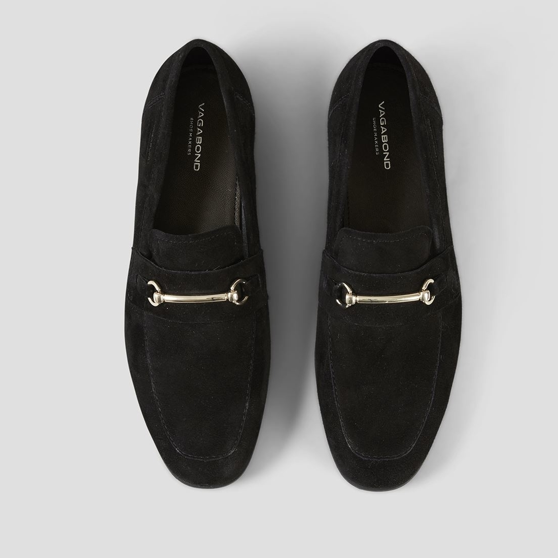 Black Marilyn Suede Loafers