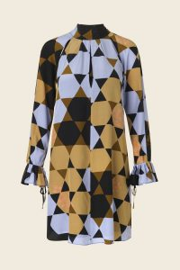 Stine Goya - Tara dress - Hexagons Amber