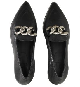 Billi Bi - loafers with oversized chain
