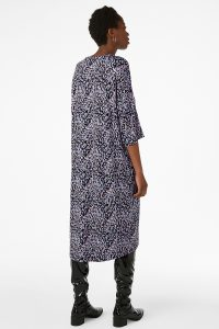 Monki - oversized t-shirt dress with confetti print