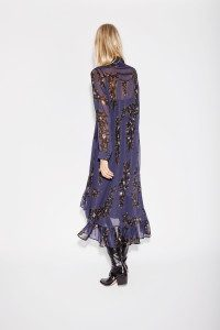 Munthe - indigo Notebook dress