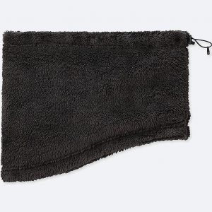 Uniqlo - Heattech fluffy fleece windproof neck warmer