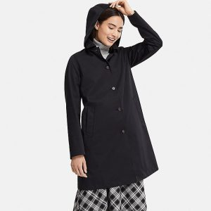 Uniqlo - Blocktech soutien collar hooded coat