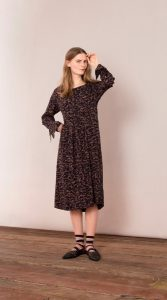 Noa Noa - black printed dress