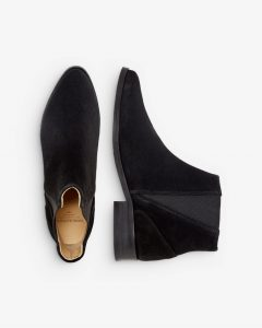 Royal RepubliQ - black suede Chelsea boots