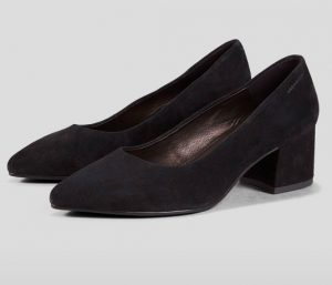 Vagabond - Mya black suede pumps