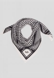 lala Berlin - Trinity triangle bandana in Alabastro