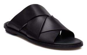 Clarks - black Willow Art leather slip-ins