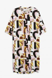 Monki - jersey dress with graphical print