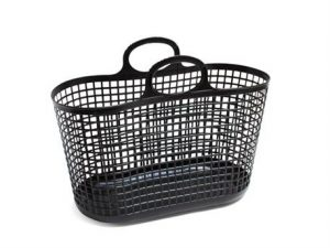 Notre Dame - black shopping basket