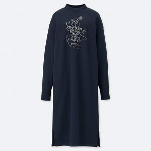 Uniqlo - Minnie Mouse sweat dress