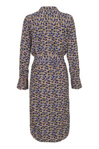 Noa Noa - purple printed shirt dress
