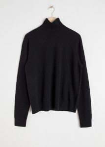 & Other Stories - boxy fit cashmere turtleneck