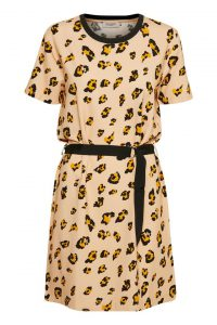 Soaked in Luxury - Leanne dress with animal print