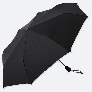 Uniqlo - black compact umbrella