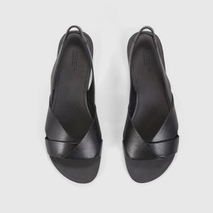 Vagabond Tia - black leather sandals