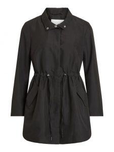 Vila - black spring coat