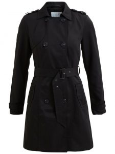 Vila - black trenchcoat 1