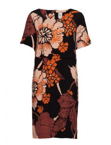 Ichi - Chelsea dress with big flower print