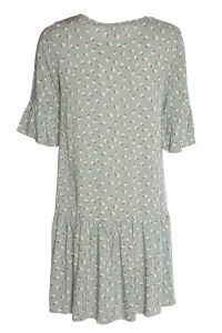 Ichi - grey printed Vera dress