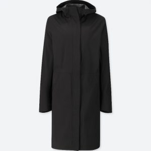Uniqlo Blocktech hooded coat