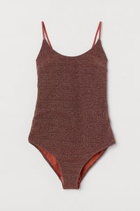 H&M - glittering bathing suit
