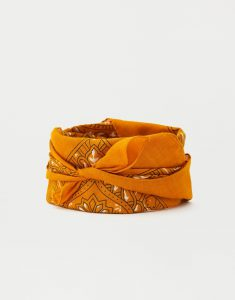 Pull and Bear - yellow bandana