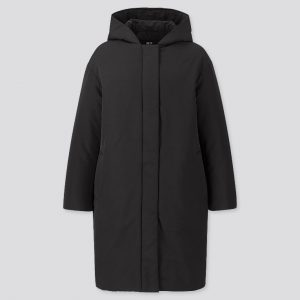 Uniqlo - hybrid down cocoon silhouette hooded coat