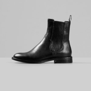 Vagabond Amina - black leather chelsea boots