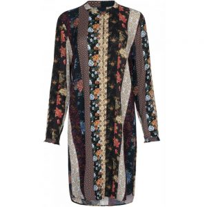 Luxzuz One Two - patchwork shirt dress