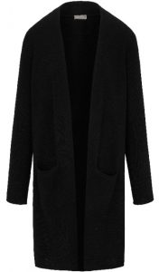 Peter Hahn - long black Include cardigan