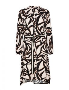 Saint Tropez - zebra print shirt dress