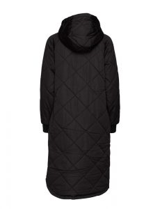 Selected Femme - black quilted coat