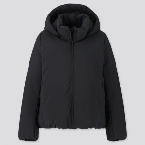 Uniqlo - hybrid down hooded parka