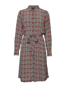 Free/quent - printed shirt dress