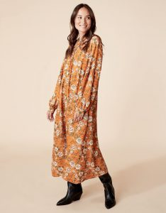 Indiska - orange Hilda dress