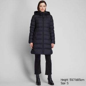 Uniqlo - Ultra light down hooded coat