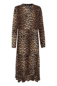 B.Young - dress with leo print
