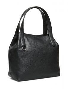 Coccinelle - Mila black leather hand bag