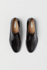 H&M - black patent Derby shoes