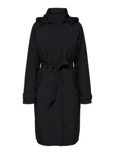 Selected Femme - black 2-in-1 coat