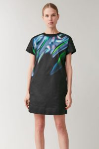 COS - printed dress with lining