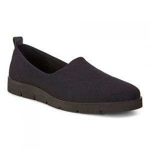 Ecco - black Bella slip-on shoe