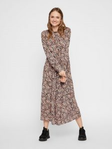 Pieces - floral maxi dress